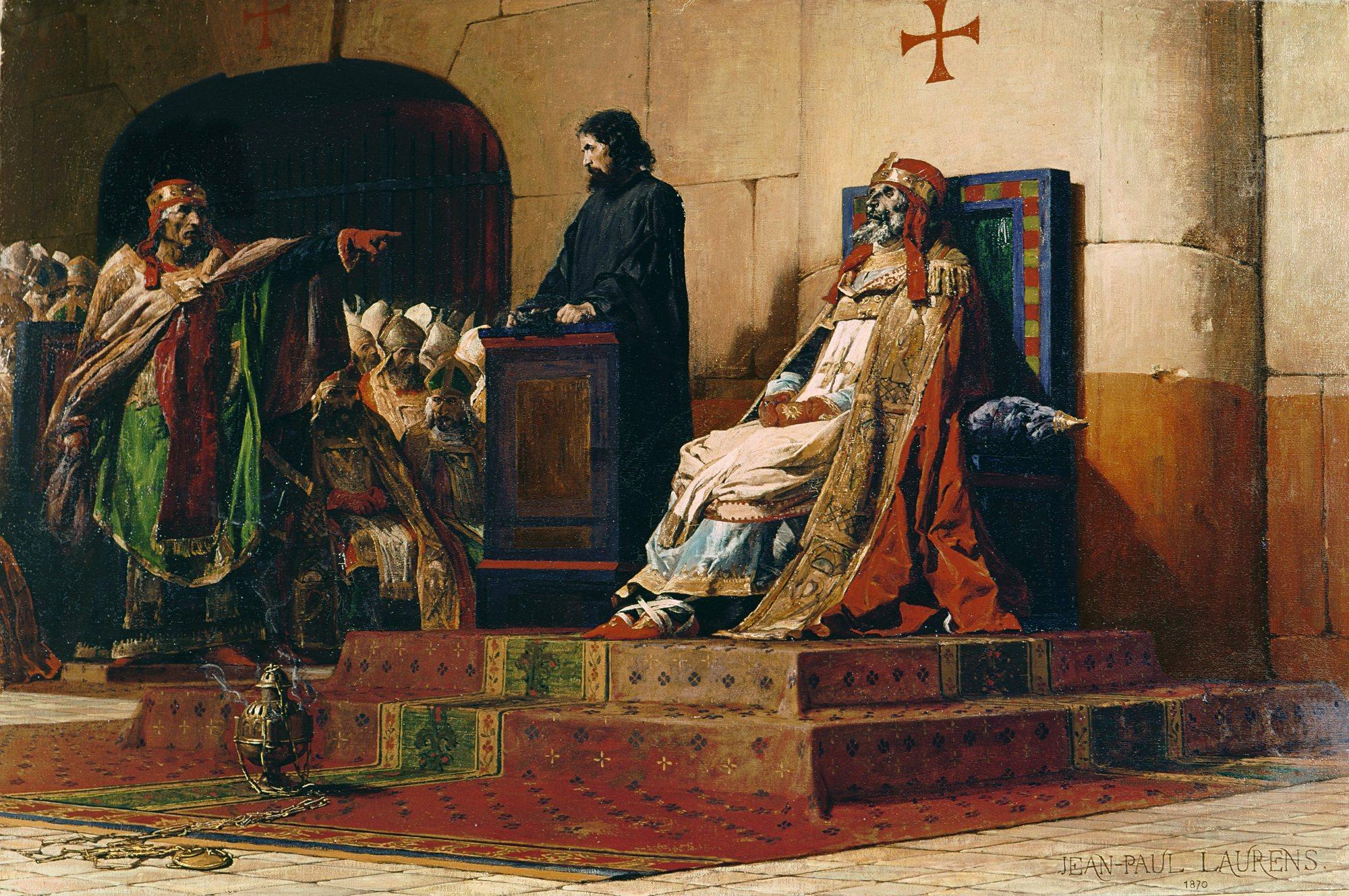El sínode del cadàver - formós I - papa zombie