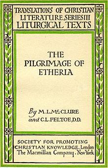 Pelegrinatge d'Egeria