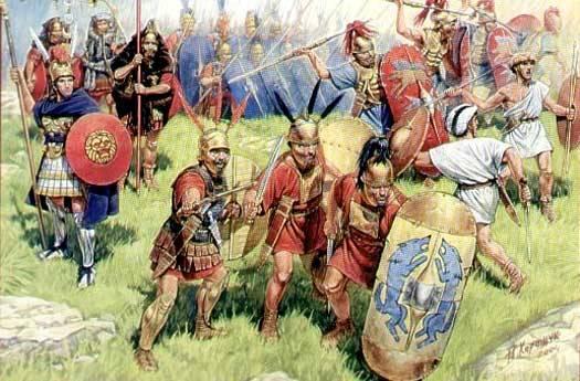 batalla de sentinum