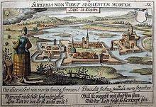 Meisner_Dániel_metszete_Szigetvárról_1625