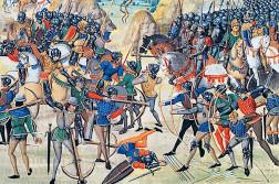 batalla d'agincourt arquers